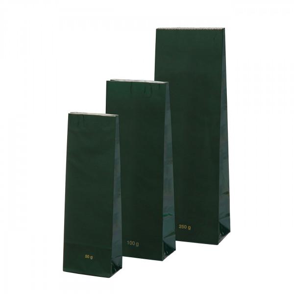 Blokbodem zak groen Hoogglans 100 g