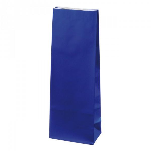 Blokbodem zak blauw Gelamineerd 100g