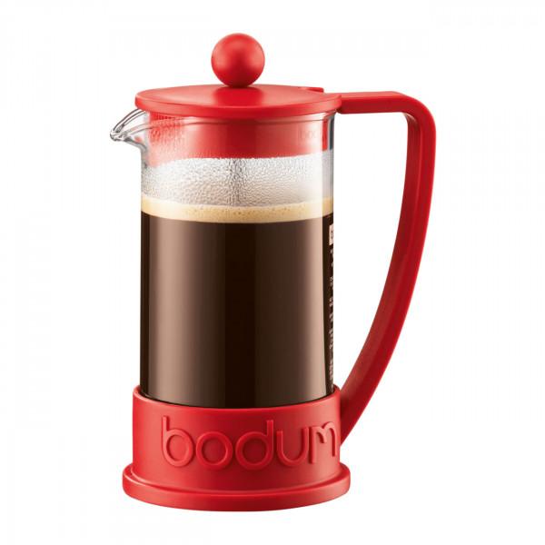 Kaffeebereiter Brazil 0,35 l rot BOD01748