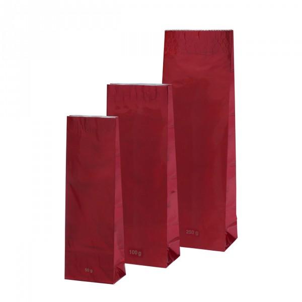 Blokbodem zak rood Hoogglans 250g