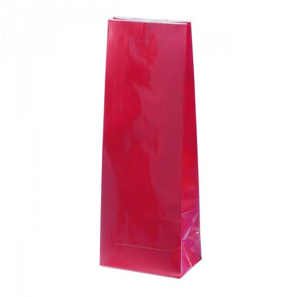 Blokbodem zak rood Gelamineerd 200g
