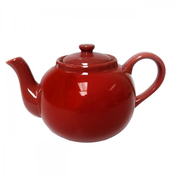 Engl. Teekanne 2,5 l rot