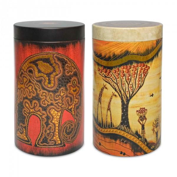 Theeblikken Afrika Savannah + Olifant | 500 gr