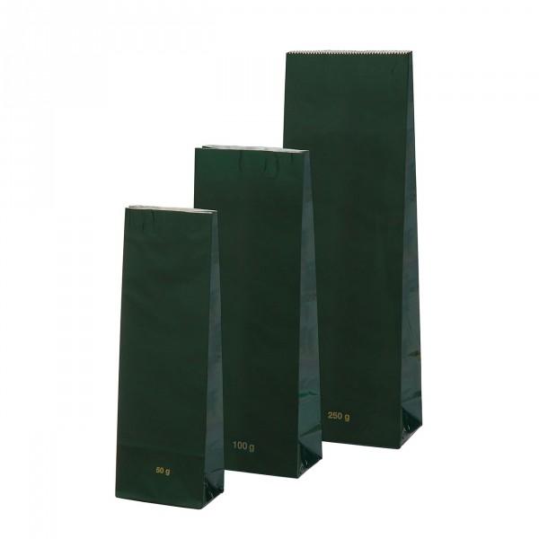 Blokbodem zak groen Hoogglans 250g