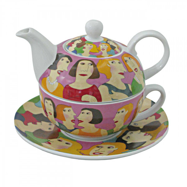 Tea for one Small Talk