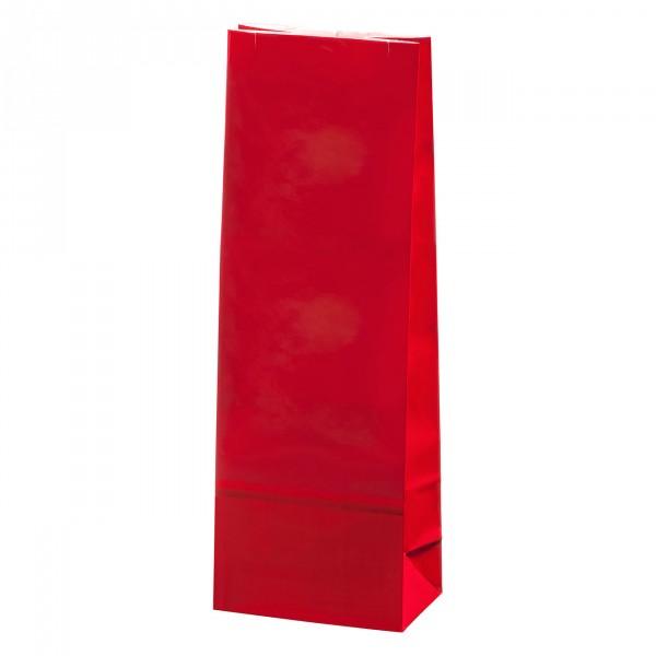 Blokbodem zak rood Gelamineerd 100g