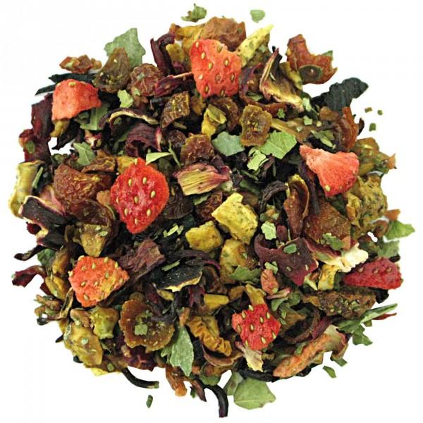 Aarbei Room vruchten thee