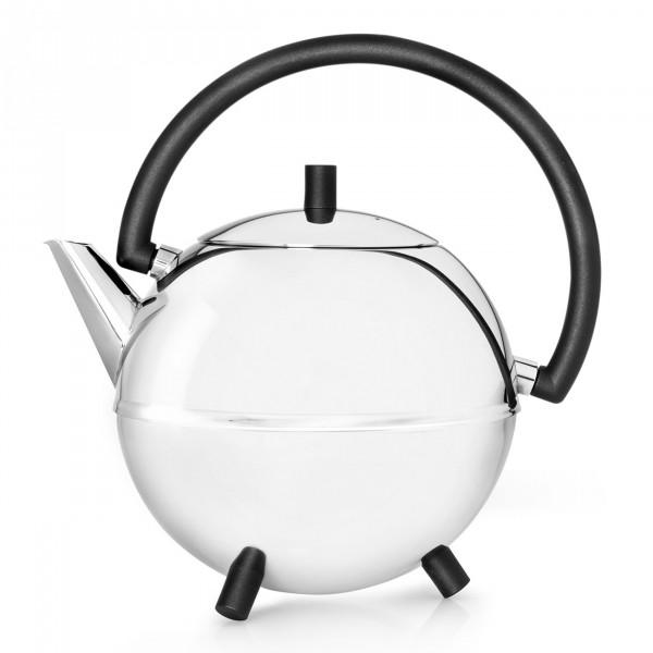 Teekanne Saturn, schw. Beschläge 1,2L BRE01010