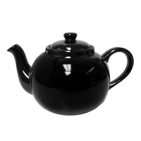 Engl. Teekanne 2,5 l schwarz