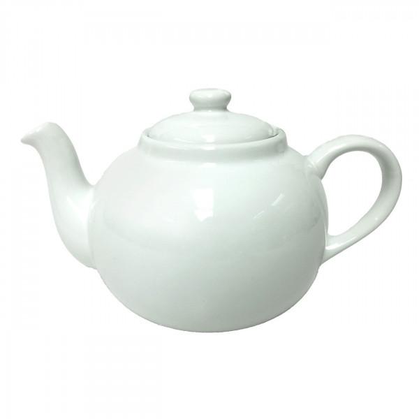 Engl. Teekanne 2,5 l weiß
